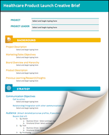 Healthcare-Product-Launch-Creative-Brief-Template-marketing-and ...