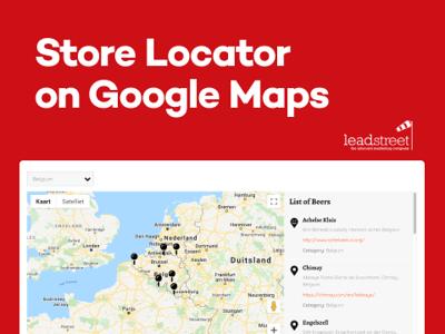 HubSpot Store Locator met Google Maps