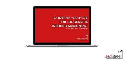 Free ebook 'Content Strategy for Successful Inbound Marketing' (Conversion Day)
