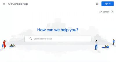 How to create an API key for Google Maps?