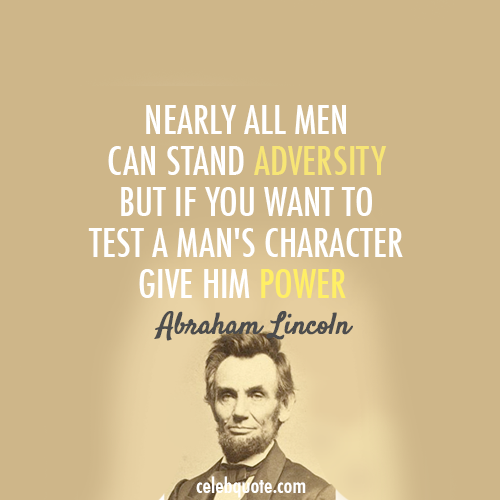 Inspirational Quotes Presidents: President's Day Graphic Design Inspiration: Abraham Lincoln
