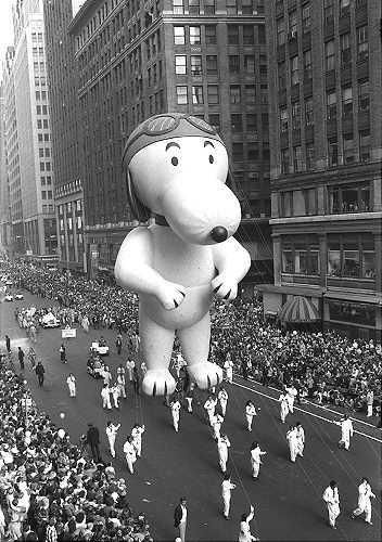 Vintage Macy's Thanksgiving Parade Photographs