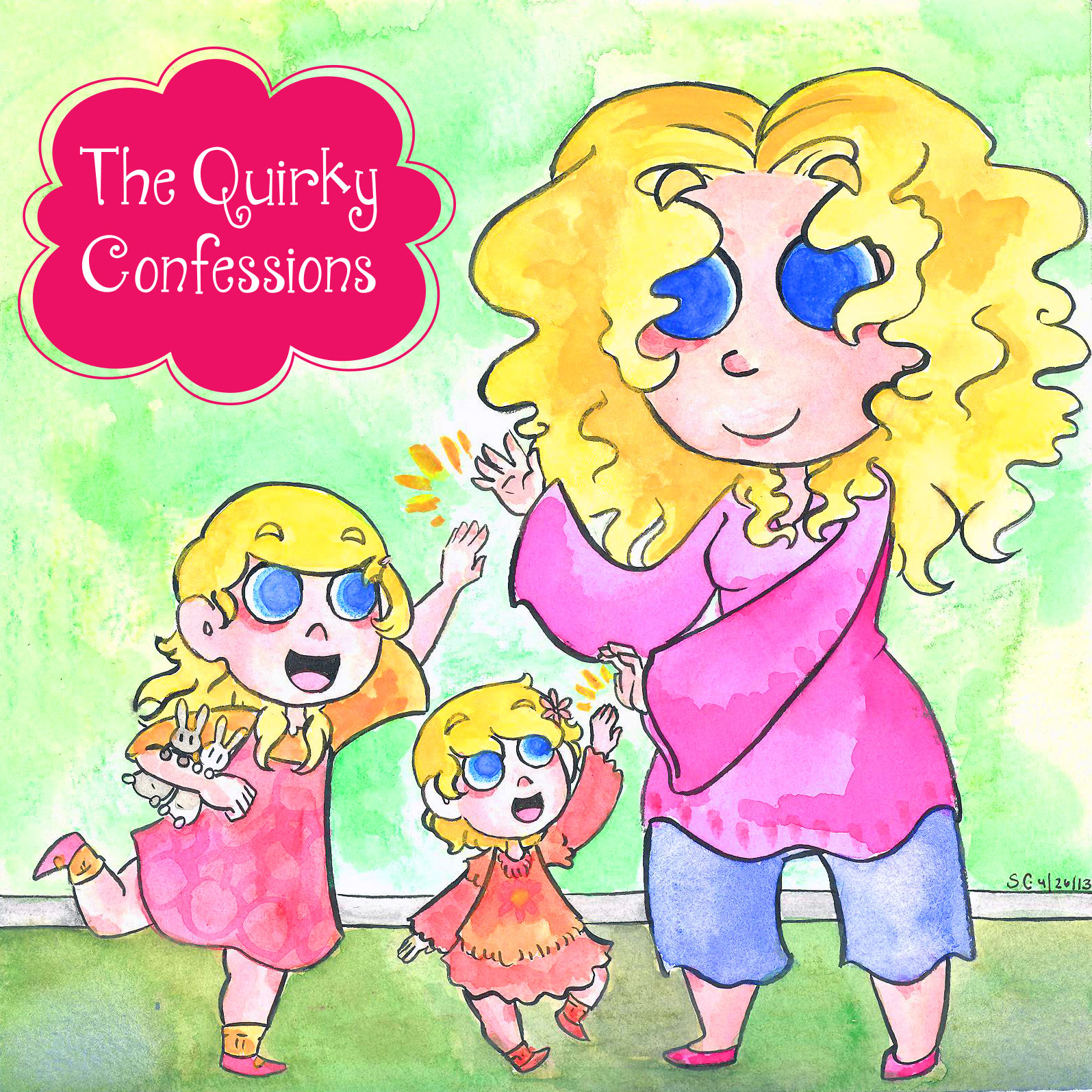 The Quirky Confessions: Days in the Life of a Stay at Home Mom ~ Mommy Blog