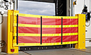 Dok-Guardian XL Safety Barrier Meets Walking-Working Surfaces Requirement