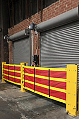 Dok-Guardian XL Safety Barrier