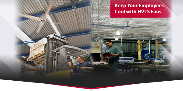 Keep Your Employees Cool with HVLS Fans