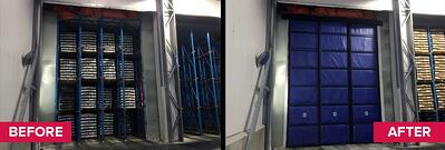 BZH Blast Freezer Curtain Wall