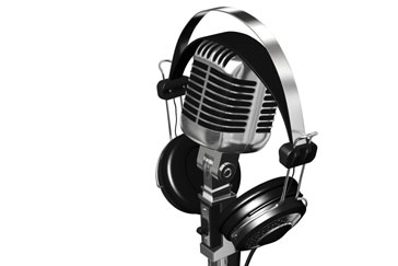 Image result for mic & headphones