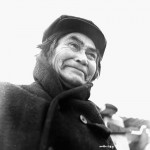 Copper Joe, oldest Aboriginal person in the vicintiy of Burwash Landing, Yukon, Nov 1942