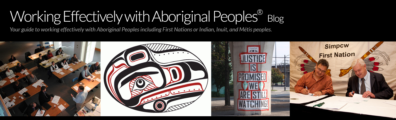 Working Effectively with Aboriginal Peoples Blog
