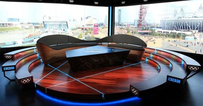 BBC Olympic Sofa