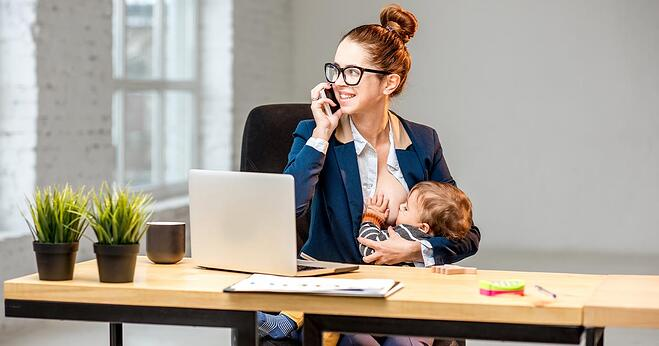 Breastfeeding In The Office
