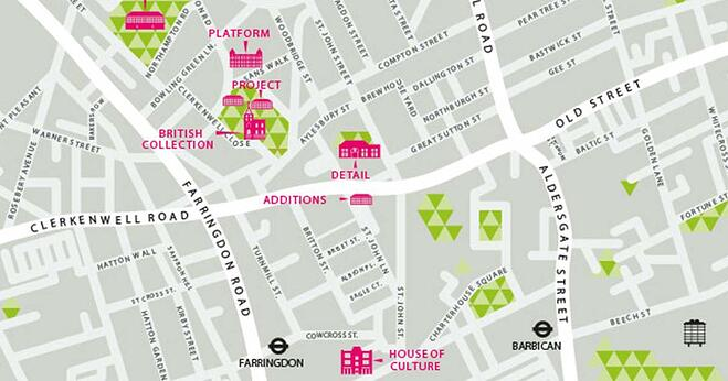 Clerkenwell Map