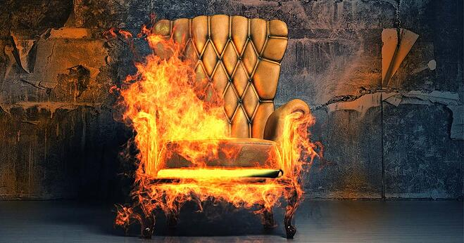 Sofa On Fire