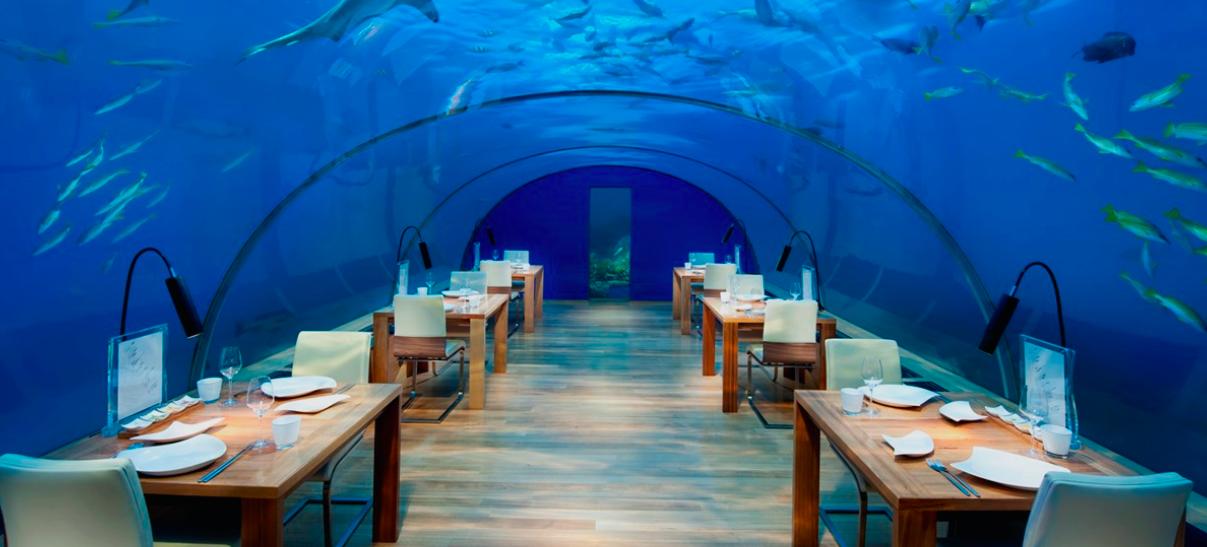Sub-aquatic dining