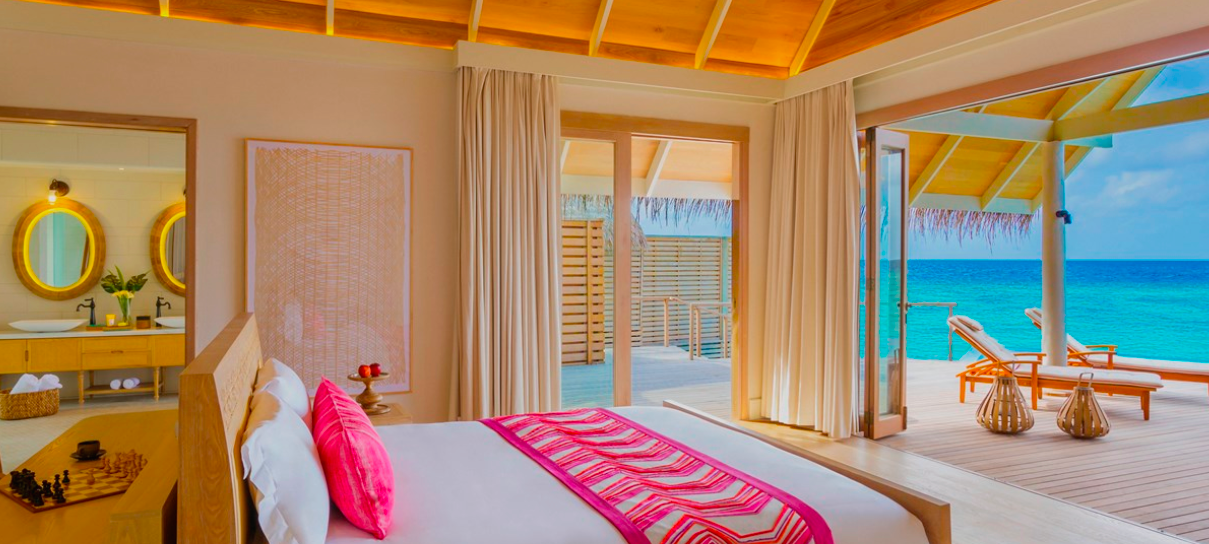 Ocean view from your bed