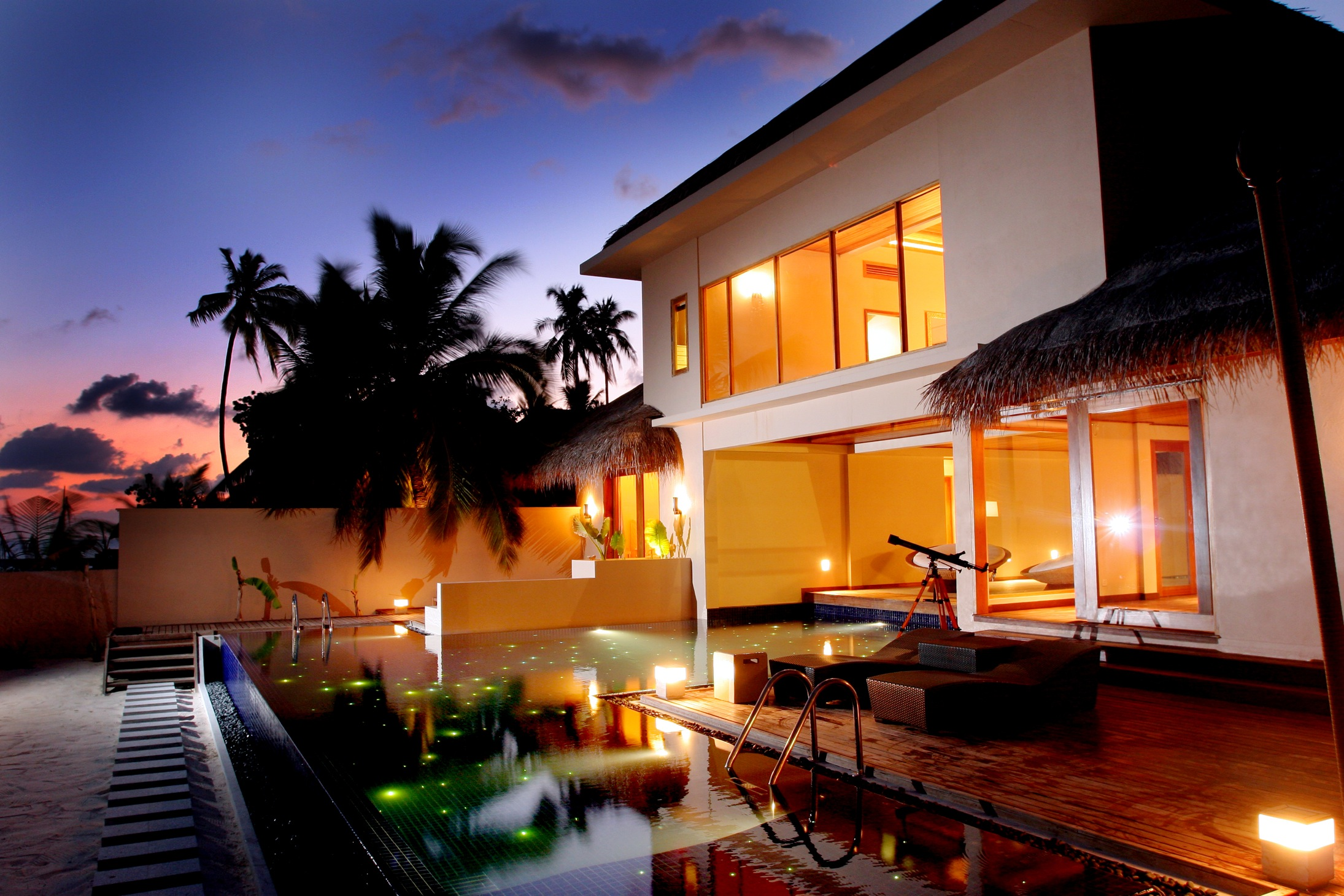 Huvafen Fushi Beach Villa