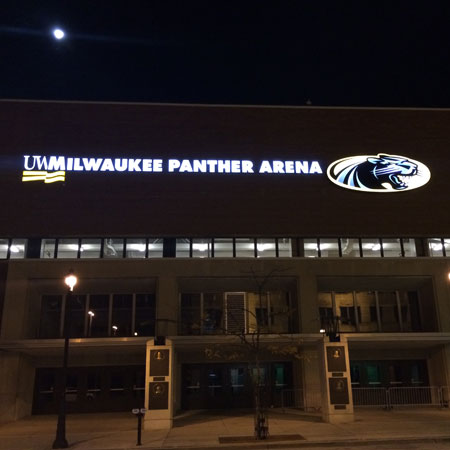 New UW-Milwaukee Sign - Lemberg