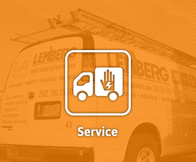Electrical service division at Lemberg Electric Company.