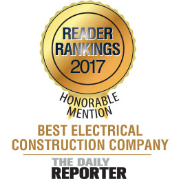 Readers of The Daily Reporter ranked Lemberg as one of the region's best electrical contractors.