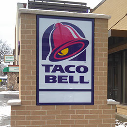 Taco Bell Signage