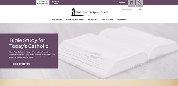 Little Rock Scripture Study Website