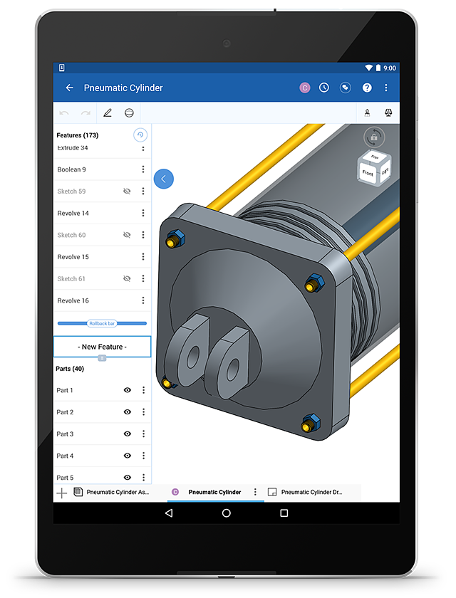 Cadfaster First 3d Cad Collaboration For Iphone And Ipad: Onshape For Android: The Power Of CAD Is In Your Finger