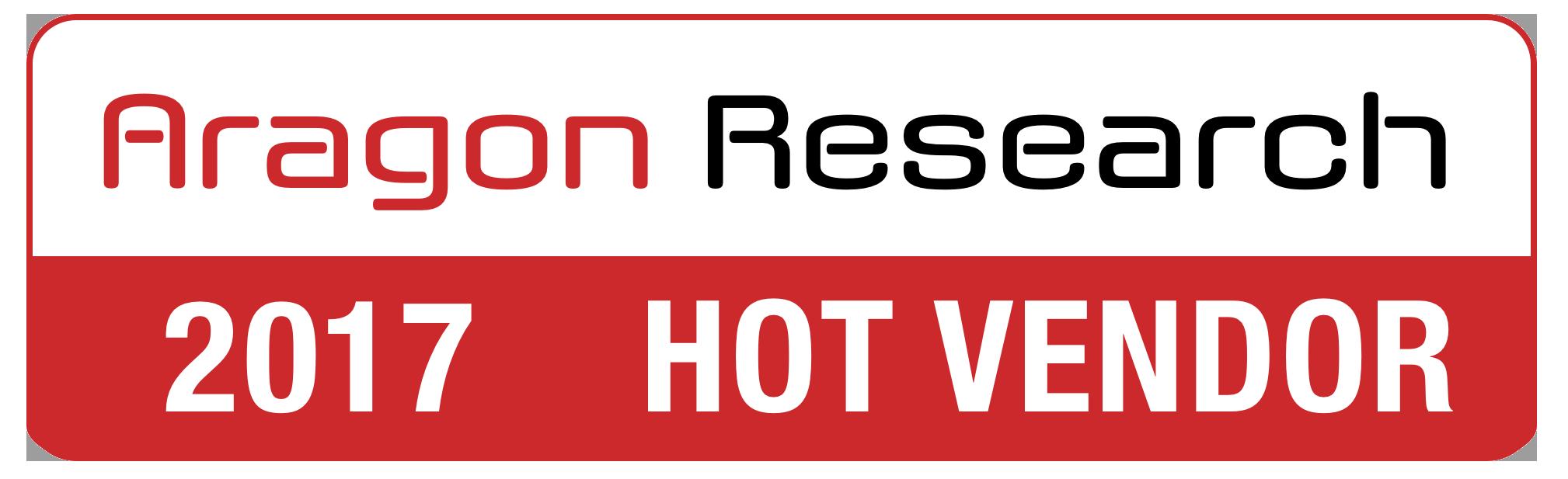 Aragon Hot Vendor 2017 Aware