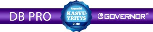 DB Prolle myönnetty Kauppalehden Kasvaja-sertifikaatti
