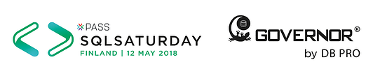 Meet us at the SQLSaturday Finland on 12 May 2018