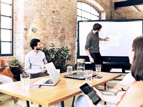 Digitale Lösung für moderne Tagungstechnik