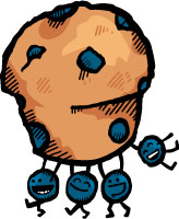 Zingerman's Blueberry Muffin