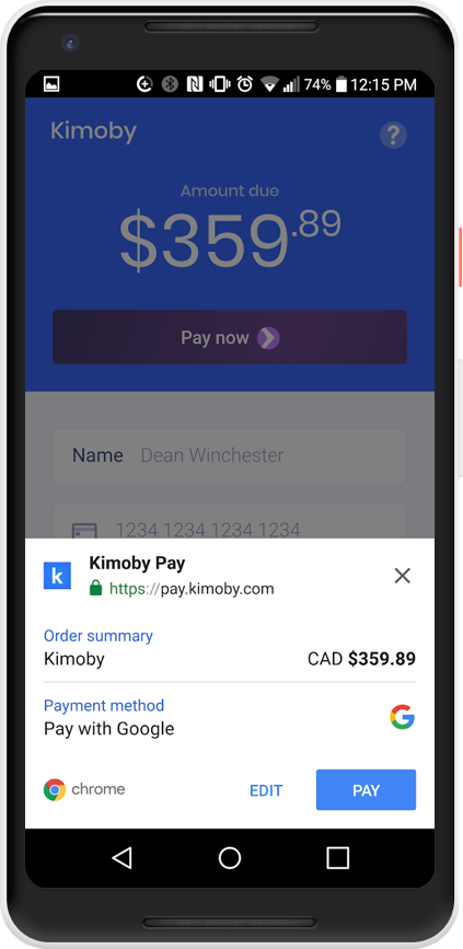 Making payments using Google Pay on your Android phone