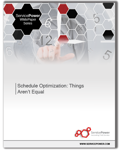 Free White Paper: Schedule Optimization: Things Aren't Equal