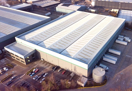 Securing Cormar Carpets' newly acquired regional distribution centre