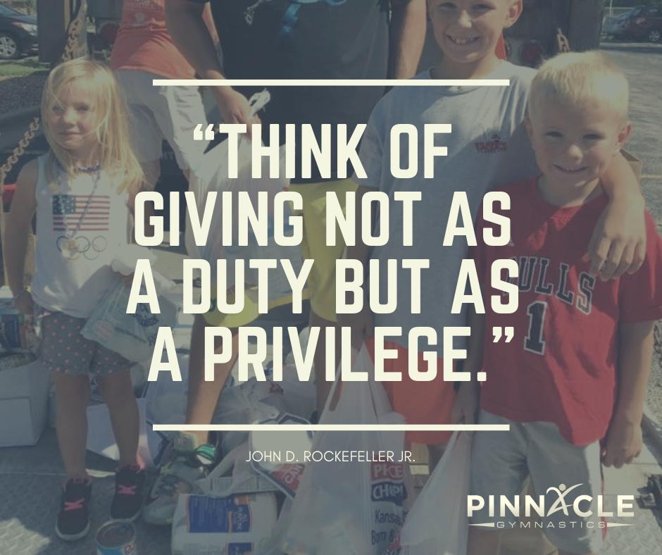 PInnacle Gives