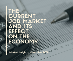 The Current Job Market and its Effect on the Economy