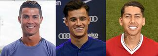 6 futbolistas que arreglaron sus dientes para mejorar su aspecto