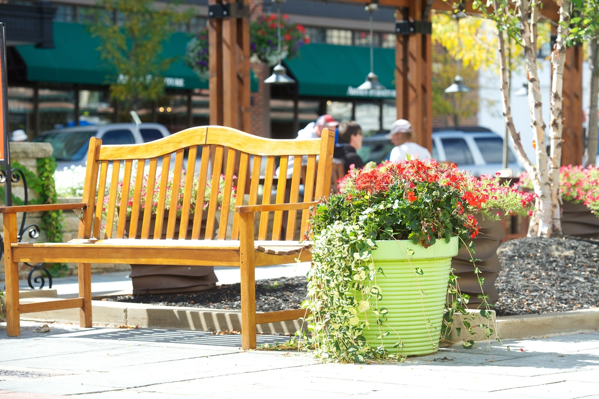 fresh container plantings should be on your commercial landscape maintenance checklist