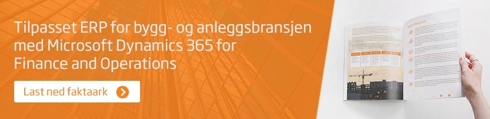tilpasset ERP for bygg- og anleggsbransjen-MS365-F&O