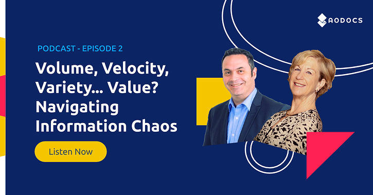 Volume, Velocity, Variety... Value? Navigating Information Chaos