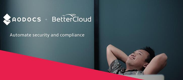 Automate Security & Compliance for Google Drive: AODocs & BetterCloud