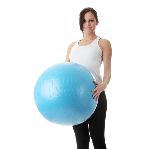 Stability Ball Office: Office Wellness: Using A Stability Ball To Exercise At
