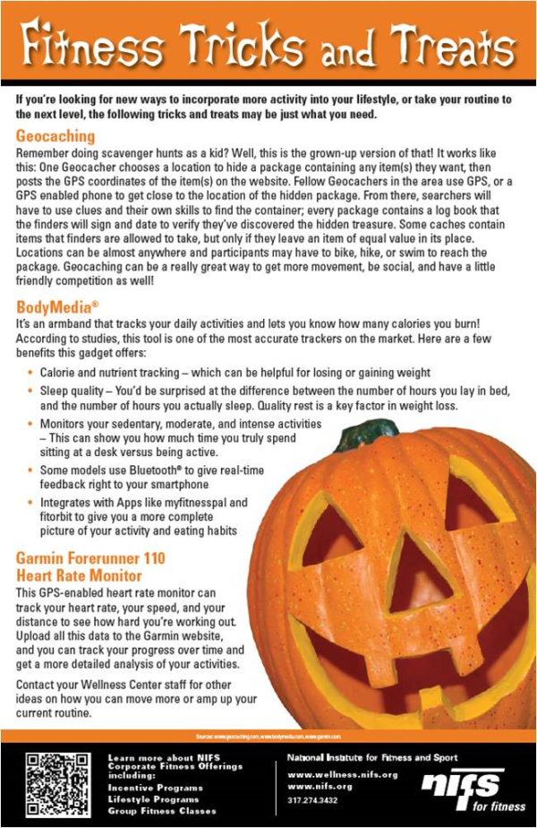 Fitness Tricks and Treats