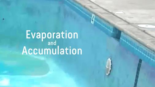 Evaporation and Accumulation