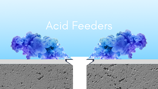 How to Use an Acid Feeder on a Swimming Pool