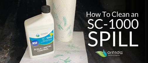 How to Clean up an SC-1000 Spill