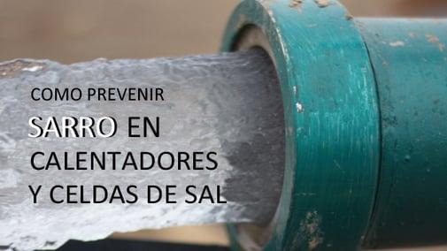 Cómo Prevenir el Sarro en el Calentador y Generador de Cloro