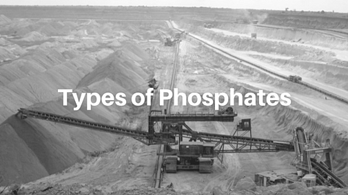 Different types of phosphates