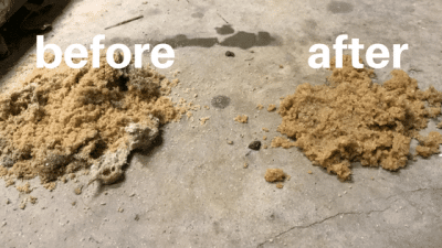 Refurbishing a sand filter vs. Doing a sand change
